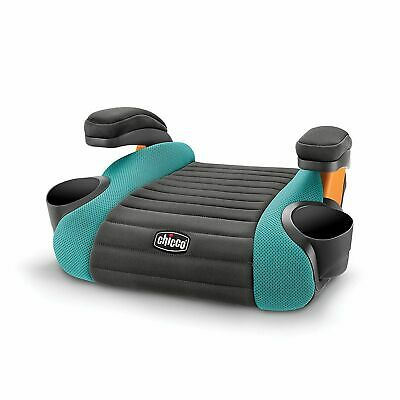 Chicco GoFit Belt-Positioning Backless Booster Car Seat Raindrop (Teal/Black)