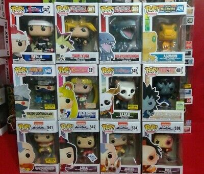 Funko Pop! Animation  :variation Listing(Bleach,naruto,fairytail,avatar Etc.)