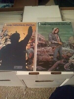 The Walking Dead #191 #192 KEY ISSUES Rick Grimes Image Comics 2019