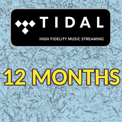 TIDAL Family HiFi 12 MESI - ACCOUNT PRIVATO - Cambio PASSWORD - con GARANZIA