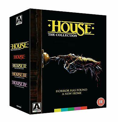 House The Collection (Blu-ray) BRAND NEW!! House I II III IV 1 2 3 4