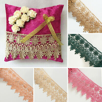 Guipure Venise Lace Trim Bridal Upholstery Boho Vintage Sewing Craft DIY Crown