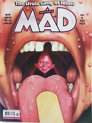 Mad Magazine August 2019 No Mailing Labels