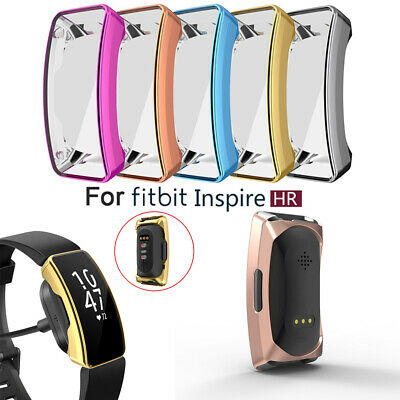 Band Silicone Shell Protective Cover TPU Watch Case For Fitbit Inspire & HR