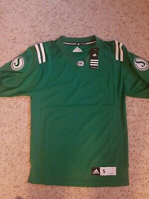 super popular ebd3c 8e60e Saskatchewan Roughriders CFL Jersey Size Small Home Jersey New w  tags