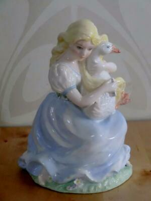 Coalport Limited Edition THE GOOSE GIRL (Brothers Grimm) Figurine/Ornament C1985
