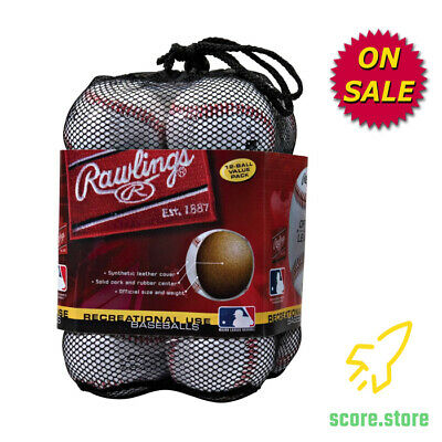 c8cfd951 Baseballs Rawlings Official League Recreational Use Solid Cork for Practice  12pc