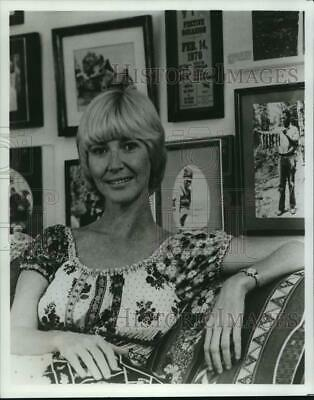 "1978 Press Photo Charlotte Stewart, actress in ""Little House on the Prairie"""