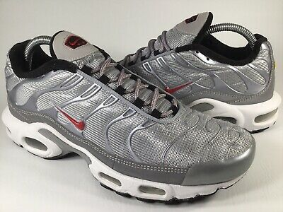 7edd493b0f Nike Air Max Plus Tn Silver Bullet Black White Mens Size 8.5 Rare 903827-001