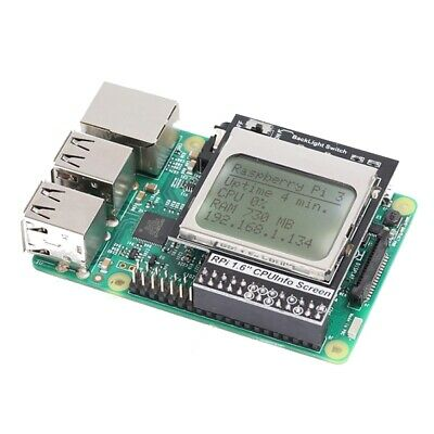 Practical CPU Info 1.6 inch 84x48 Matrix LCD Memory Display Module With Backlig