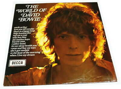 °°° David Bowie - The World of  °°° DECCA STEREO LP - 1970