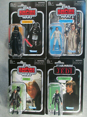 Luke VC23 Leia 02 Vader 08 Han 03 - Lot x 4 pieces  Star Wars Vintage Collection