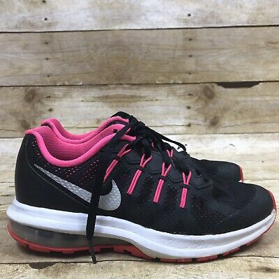 6d42e48284 Nike Air Max Dynasty Black Pink Tennis Shoes Kids Big Girls Size 3.5Y  Sneakers