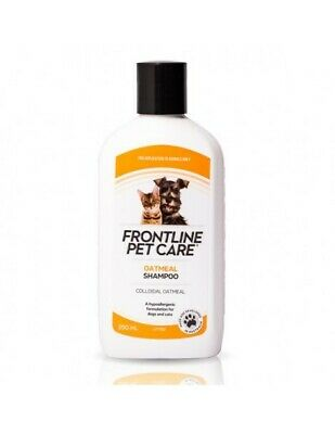 Frontline Pet Care Oatmeal Shampoo For Dogs & Cats 250ml (S1121)