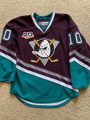 67a178bc3 Corey Perry Anaheim Ducks 20th Anniversary Throwback 50 Authentic Jersey  SIGNED