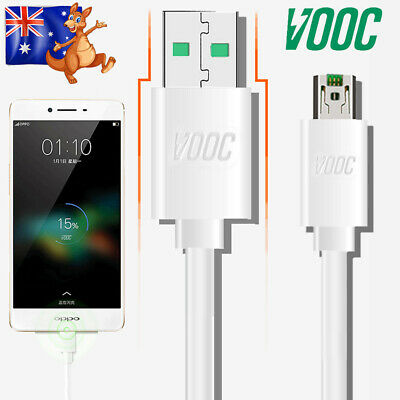 Genuine OPPO VOOC Fast Charger Charging Cable For R15 R11s R9s Plus AX7 AX5s A73