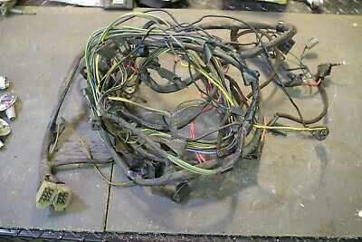 1966 corvette wiring harness engine and front lamps standard ignition no ac