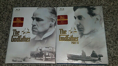 The Godfather 1 & 2 Bluray Movies 45th Anniversary Brand New Factory Sealed
