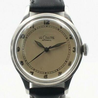 Le coultre Military P473 CAL. Automatic winding vintage Men's Watch Overhauled