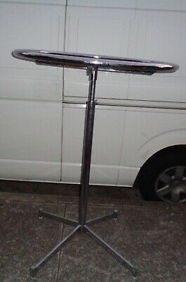 CLOTHES RACK chrome extendable circular shop/market stall  VGC  pick up NSW 2131