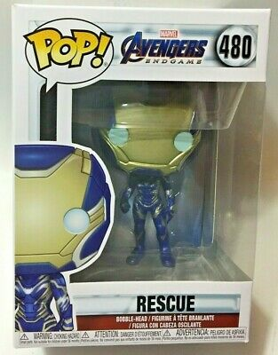 FUNKO Pop Marvel MCU AVENGERS ENDGAME RESCUE #480 4in Vinyl Figure IN STOCK