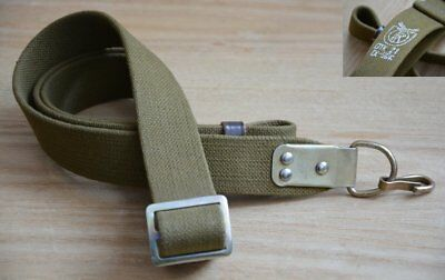 USSR Soviet Russian Army Original sling belt carrying Deer stamp canvas