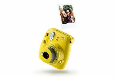 FOTOCAMERA ISTANTANEA DIGITALE FUJIFILM INSTAX MINI 9 YELLOW FORMATO 62x46 mm