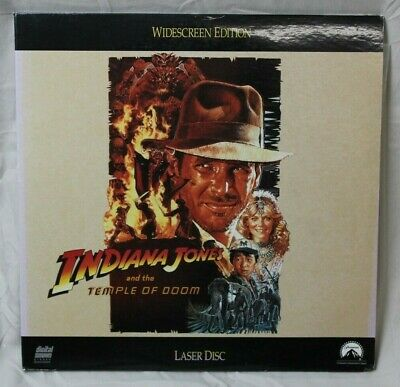 Indiana Jones and the Temple of Doom (1983) Widescreen Edition LaserDisc