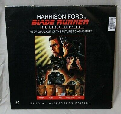 Blade Runner (1982) Original Directors Cut, Widescreen LaserDisc