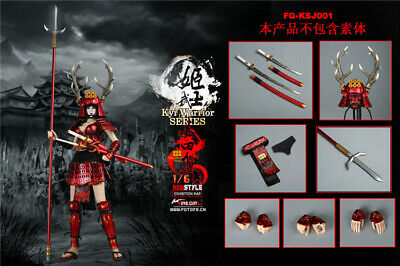 Fire Girl Toys 1//6 FG-KSJ001 Japanese women Warrior JaSanada xu Kyi Leg armor