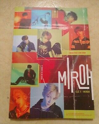 STRAY KIDS CLE 1 :MIROH CD ALBUM + PHOTO BOOK  LEE KNOW Ver. NO PHOTOCARD