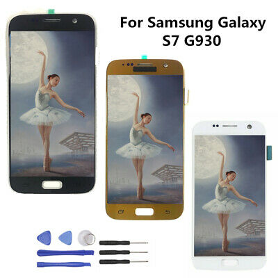 LCD Screen For Samsung Galaxy S7 G930 SM-G930F Display Touch Digitizer logo AA