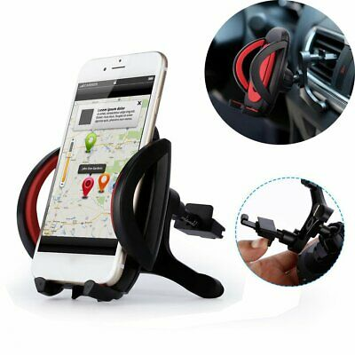 In Car Adjustable Phone Holder Fits Air Vent Universal Mount 360 Rotation !