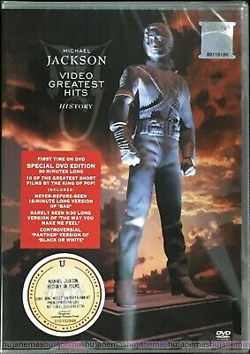 MICHAEL JACKSON Video Greatest Hits History MALAYSIA SPECIAL Edition DVD NEW