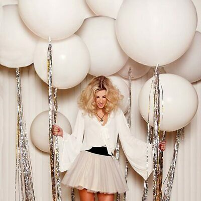 5x Round Latex Balloons 36 Inchs Wedding Decor Helium Big Large Giant Ballons