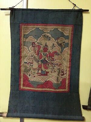 Mongolian ANTIQUE Buddhist OLD Woodblock PRINT18c-19c (RARE)