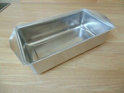 EKCO HOSTESS TROLLEY STAINLESS STEEL DISH  (replaces glasbake )