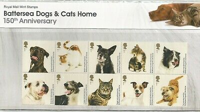 Great Britain 2010 Battersea Dogs & Cats Home P/Pack Number 438 Lot 3530B