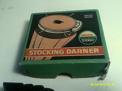 Vintage Elna Necchi Stocking Darner in Orig. Box