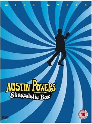 Austin Powers: The Shagadelic Box Collection - UK Region 2 DVD Set - Mike Myers