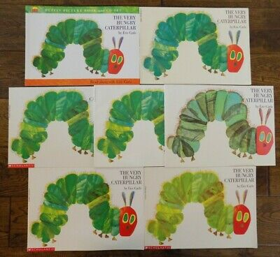 Lot 7 The Very Hungry Caterpillar Books by Eric Carle Guided Reading