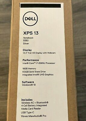NEW DELL XPS 13 9380 13 3