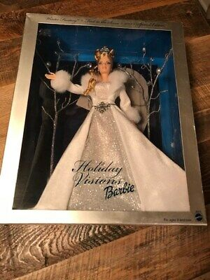Holiday Visions Winter Fantasy 2003 Barbie Doll Special Edition Mattel