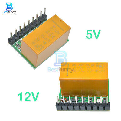 DC MOTOR REVERSE Polarity Switch Dpdt Relay Module 2A 5V - £5 99