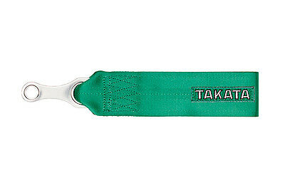 Takata Racing Tow Strap - Green