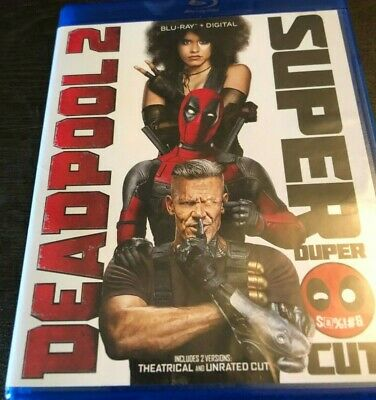 Deadpool 2 Blu-Ray Theatrical and Super/Extended Version