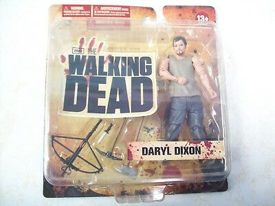 Daryl Dixon Series 1 Figure, The Walking Dead, TV, Rare!