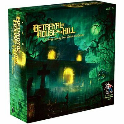 Betrayal at House on the Hill Board Game Wizards of the Coast BRAND NEW ABUGames