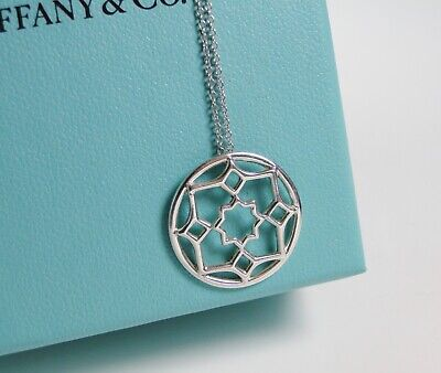befb5eebc Tiffany & Co. Paloma Picasso Sterling Silver Zellige Medallion Pendant 20mm