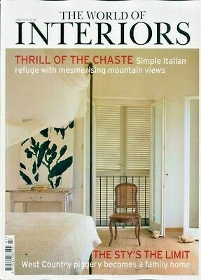 The World Of Interiors Magazine Issue July 2019  ~ New ~
